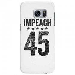 impeach 45   anti trump Samsung Galaxy S7 Edge Case | Artistshot