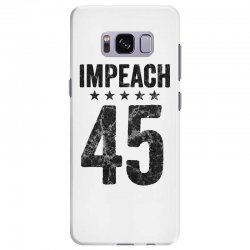 impeach 45   anti trump Samsung Galaxy S8 Plus Case | Artistshot