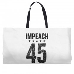 impeach 45   anti trump Weekender Totes | Artistshot