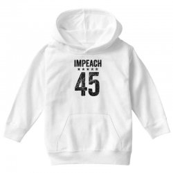 impeach 45   anti trump Youth Hoodie | Artistshot
