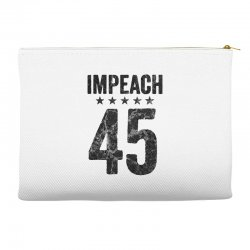 impeach 45   anti trump Accessory Pouches | Artistshot