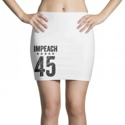 impeach 45   anti trump Mini Skirts | Artistshot