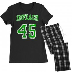 impeach 45 trump Women's Pajamas Set | Artistshot