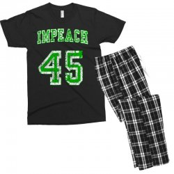 impeach 45 trump Men's T-shirt Pajama Set | Artistshot