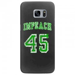 impeach 45 trump Samsung Galaxy S7 Edge Case | Artistshot
