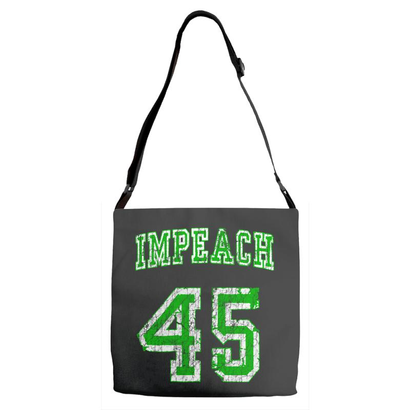 Impeach 45 Trump Adjustable Strap Totes | Artistshot