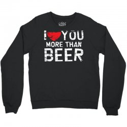 than beer Crewneck Sweatshirt | Artistshot