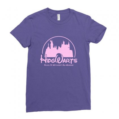 Hogwarts Parody For Light Ladies Fitted T-shirt Designed By Hasret