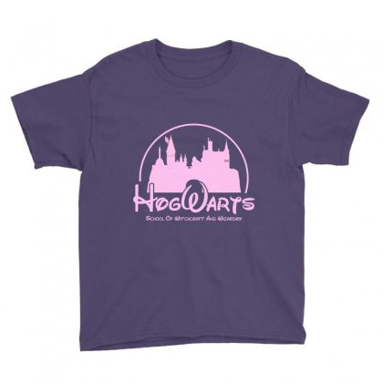 Hogwarts Parody For Light Youth Tee Designed By Hasret