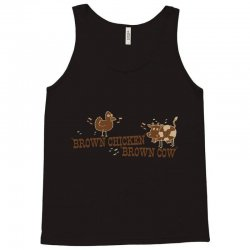 brown chicken brown cow Tank Top | Artistshot