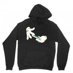 cartoon roll paper Unisex Hoodie | Artistshot