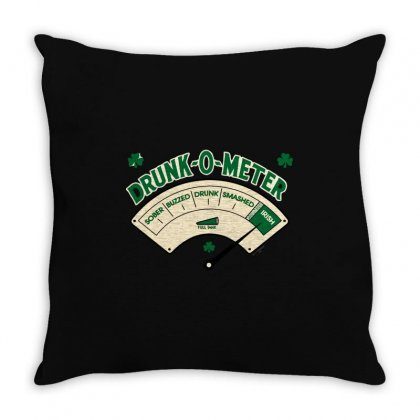 Drunk Meter Throw Pillow Designed By Mdk Art
