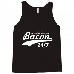 eating bacon Tank Top | Artistshot