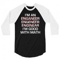 engineer math 3/4 Sleeve Shirt | Artistshot