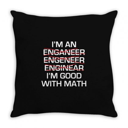 Engineer Math Throw Pillow Designed By Mdk Art