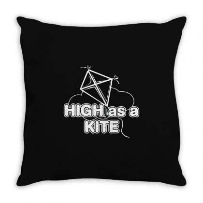 High Kite Throw Pillow Designed By Mdk Art