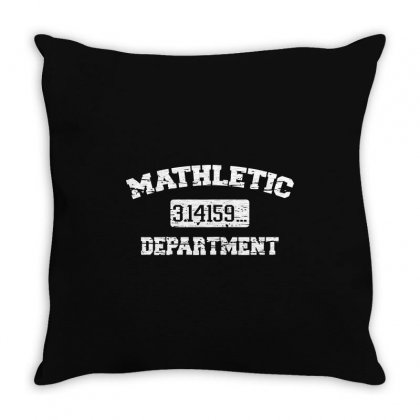 Mathletic Throw Pillow Designed By Mdk Art