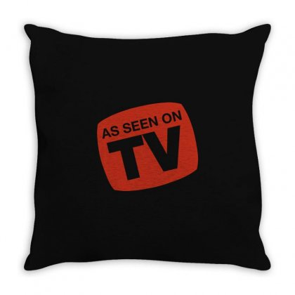 On Tv Throw Pillow Designed By Mdk Art