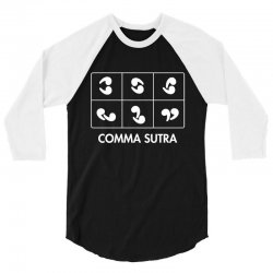 comma sutra 3/4 Sleeve Shirt | Artistshot