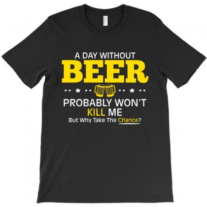 Day Beer T-shirt Designed By Mdk Art