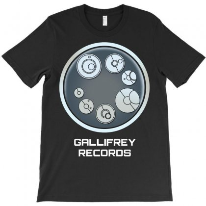 Gallifrey Records T-shirt Designed By Micmat