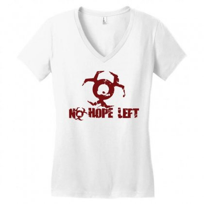 Resident Evil No Hope Women's V-neck T-shirt Designed By Micmat