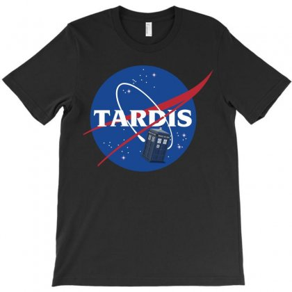 Tardis In Space T-shirt Designed By Micmat