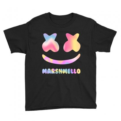 Marshmello Hologram Face Youth Tee