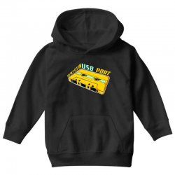 doesn't fit in usb port Youth Hoodie | Artistshot