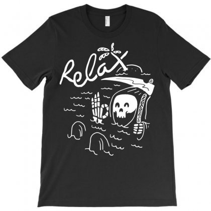 Relax T-shirt Designed By Quilimo