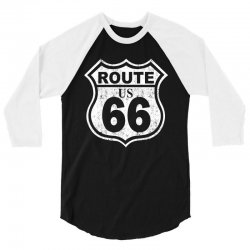 us rute 66 hot rod 3/4 Sleeve Shirt | Artistshot