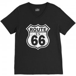 us rute 66 hot rod V-Neck Tee | Artistshot