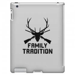 family tradition iPad 3 and 4 Case | Artistshot