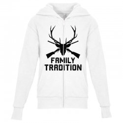 family tradition Youth Zipper Hoodie | Artistshot