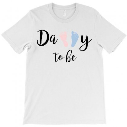Daddy To Be T-shirt Designed By Designbysebastian