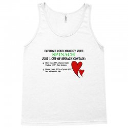 let spinach be a memory Tank Top | Artistshot