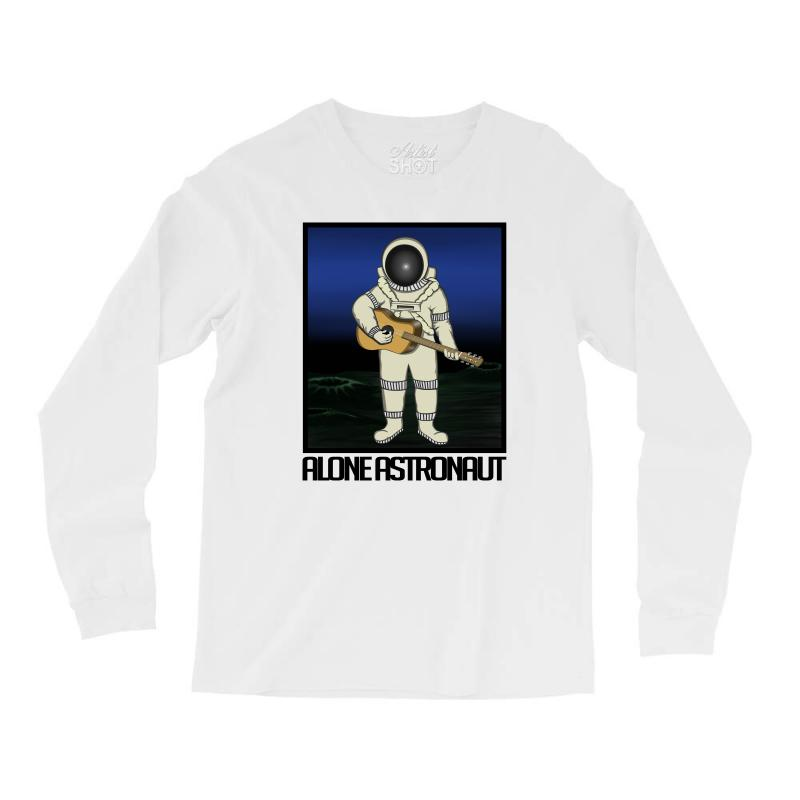 1784a6b0b Custom Astronaut Funny Long Sleeve Shirts By Saidoki - Artistshot