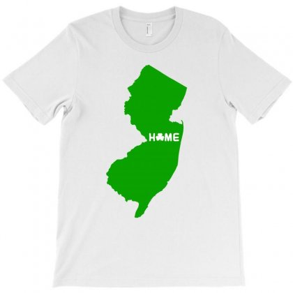 Irish New Jersey Home T-shirt Designed By Killakam