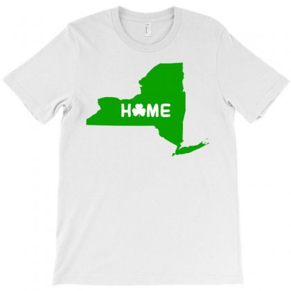 Irish New York Home T-shirt Designed By Killakam