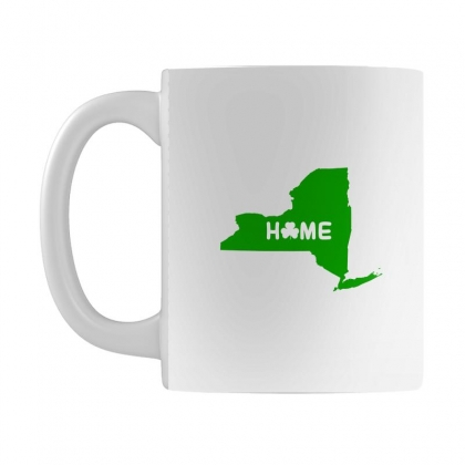 Irish New York Home Mug Designed By Killakam