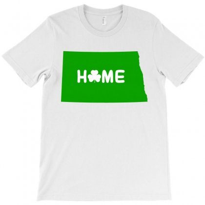 Irish North Dakota Home T-shirt Designed By Killakam