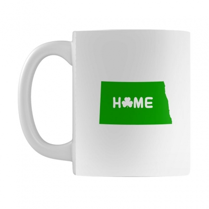 Irish North Dakota Home Mug Designed By Killakam
