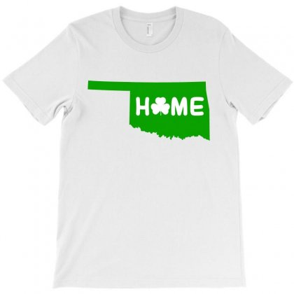 Irish Oklahoma Home T-shirt Designed By Killakam