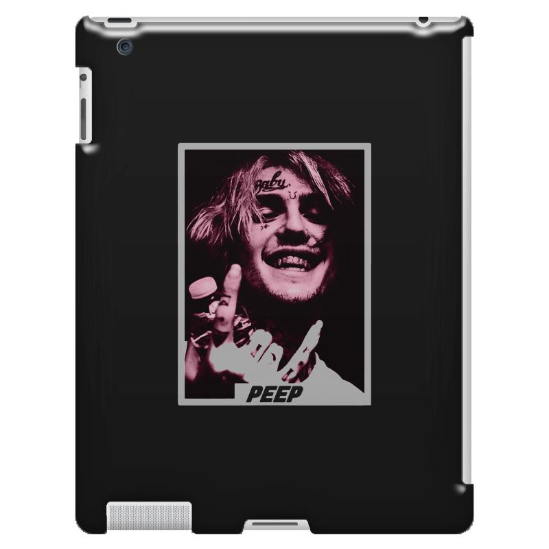 2627c54a1d75e Custom Lil Peep Ipad 3 And 4 Case By Bertaria - Artistshot
