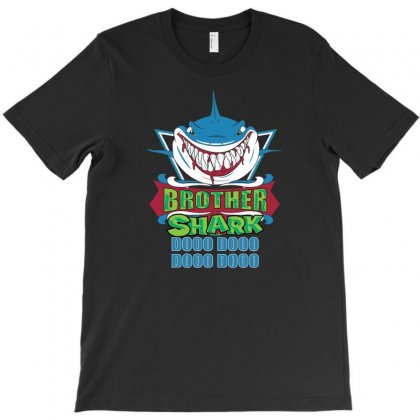 Brother Shark Family Shark Matching Gift T-shirt Designed By Omer Acar