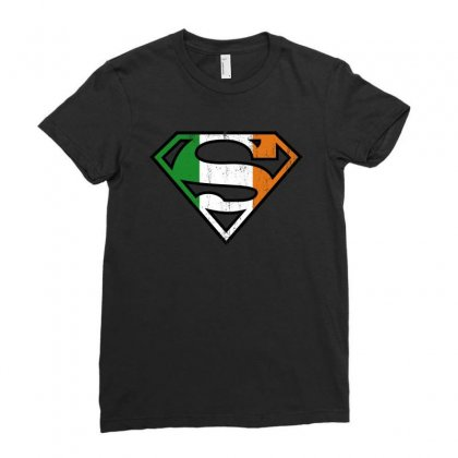Spiderman St Patricks Day Ladies Fitted T-shirt Designed By Sengul