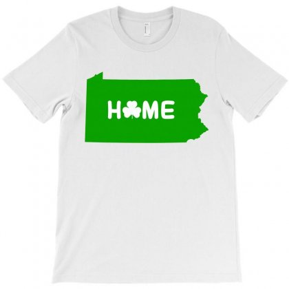 Irish Pennsylvania Home T-shirt Designed By Killakam