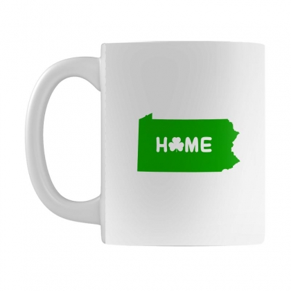 Irish Pennsylvania Home Mug Designed By Killakam