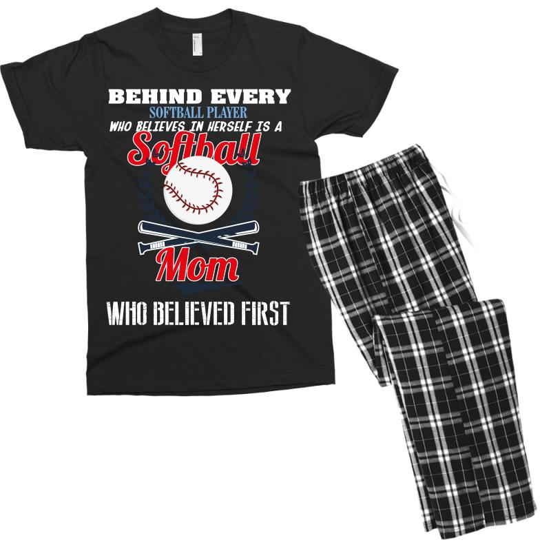 Custom Behind Every Softball Player Who Believes In Herself Is A