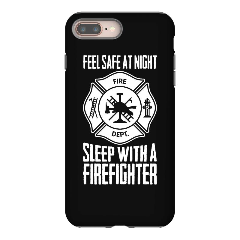 half off 4e9a4 c6028 Feel Safe At Night Sleep With A Firefighter Iphone 8 Plus Case. By  Artistshot